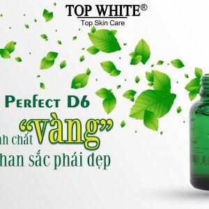 """Truy tìm dưỡng chất """"đắt giá"""" nhất trong serum Top White D6"""