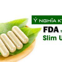 Ý nghĩa ký hiệu FDA trên viên uống giảm cân Slim Ultra N1