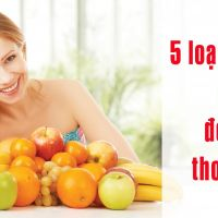 5 loại trái cây nên ăn giúp đẹp da thon dáng