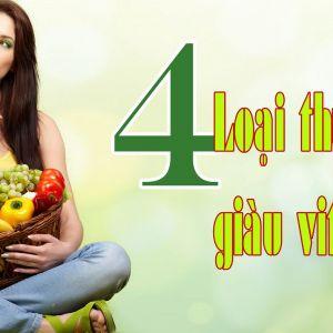 4 loại thực phẩm chứa nhiều vitamin C hơn cả trái cây chua
