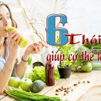 6 thói quen tốt cho sức khỏe nên duy trì mỗi ngày