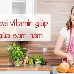 Top 4 loại vitamin giúp ngăn ngừa nám sạm lão hóa da