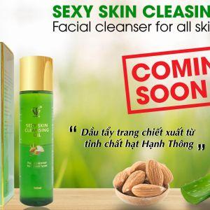 Top White Chính Thức Ra Mắt Sản Phẩm Dầu Tẩy Trang Cho Mọi Loại Da Sexy Skin Cleansing Oil