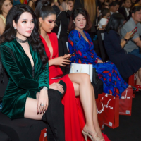 Hoa hậu doanh nhân Cao Thị Thùy dung rạng rỡ trên thảm đỏ Viet Nam International Fashion Week
