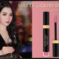 Bắt đầu tình yêu ngọt ngào với Matte Liquid Sexy Lips Start Love