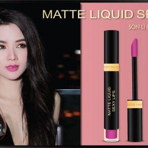 Tình đắm say cùng Matte Liquid Sexy Lips Fall in Love