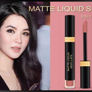 Tình đầu thơ ngây như Matte Liquid Sexy Lips First Love