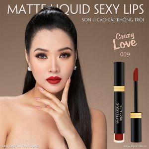 Son môi cao cấp Matte Liquid Sexy Lips có tốt không?