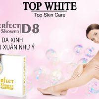 """""""Đập hộp"""" kem tắm trắng Top White D8 - Trắng hồng da xinh đón xuân như ý"""
