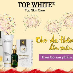 Bộ dưỡng da ban đêm Top White - Cho da thêm sắc cho xuân thêm hồng