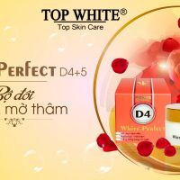 """Bộ đôi Top White D4+D5 - Quà tặng """"tinh tế"""" cho cô nàng da mụn"""