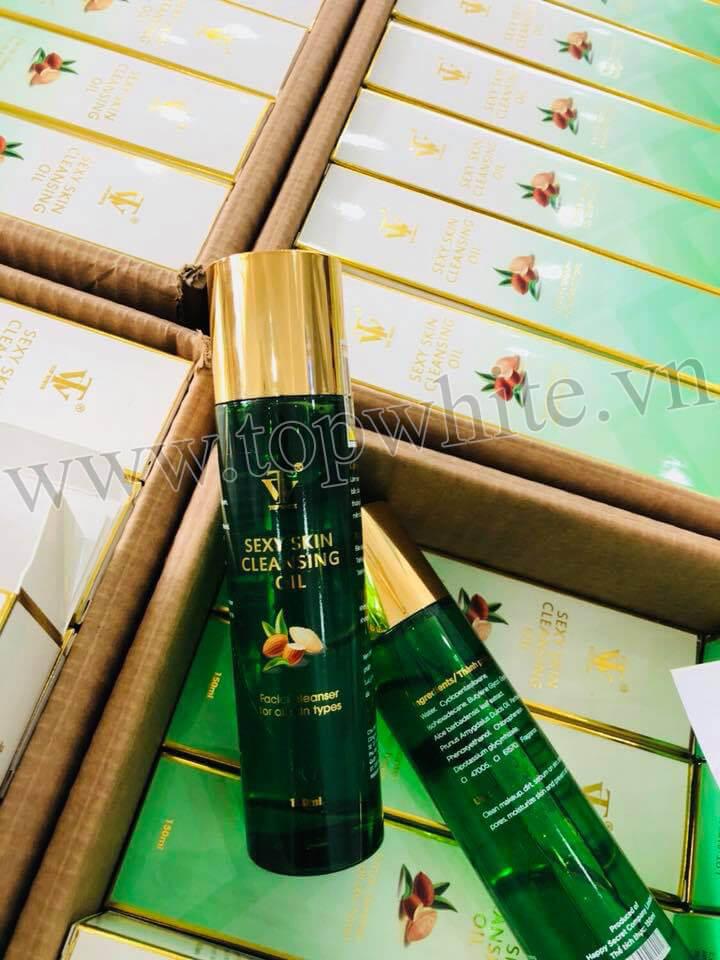 Sản phẩm dầu tẩy trang top white sexy skin cleansing oil đã về số lượng rất lớn để cung cấp cho khách hàng