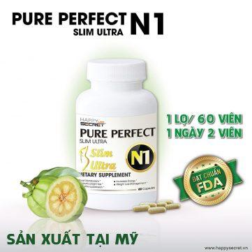 Mã vạch 0857209007008 - Viên uống giảm cân Pure Perfect Slim Ultra N1