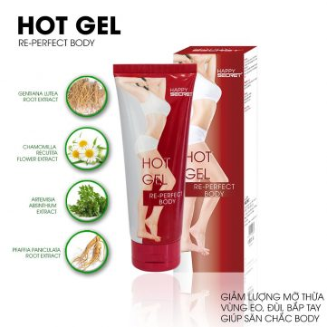 Mã vạch 8936097440004 - Hot Gel tan mỡ top white