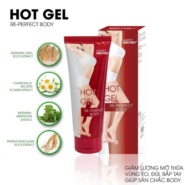 Mã vạch 8936097440004 - Hot Gel tan mỡ top white