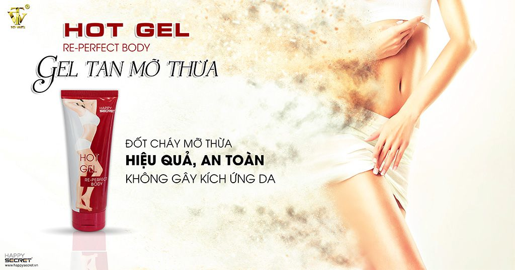 Mã vạch 8936097440004 - Hot Gel tan mỡ re-perfect body