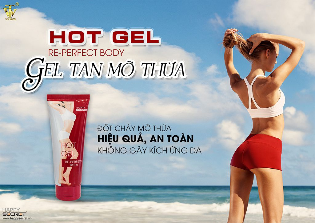 Hot Gel tan mỡ re-perfect body