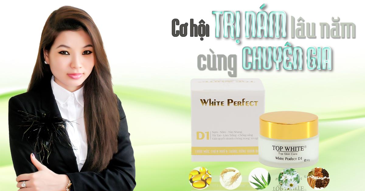 Giám đốc Cao Thị Thùy Dung người sáng lập và điều hành thương hiệu Top White