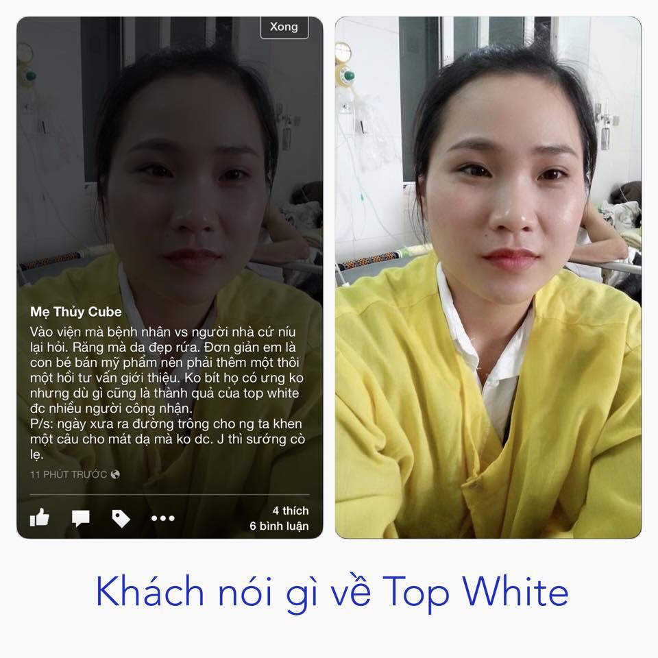 Khách hàng nhận xét về Top White