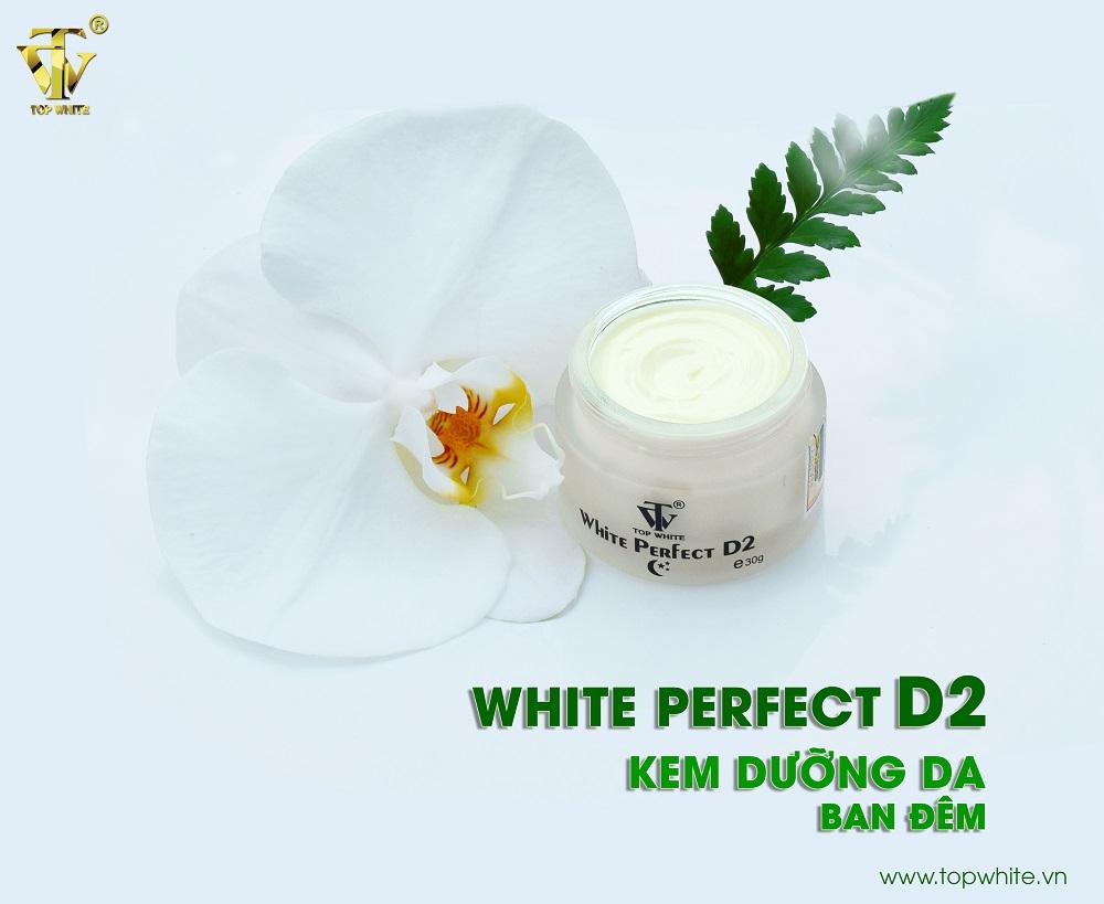 Kem dưỡng trắng da ban đêmWhite Perfect D2