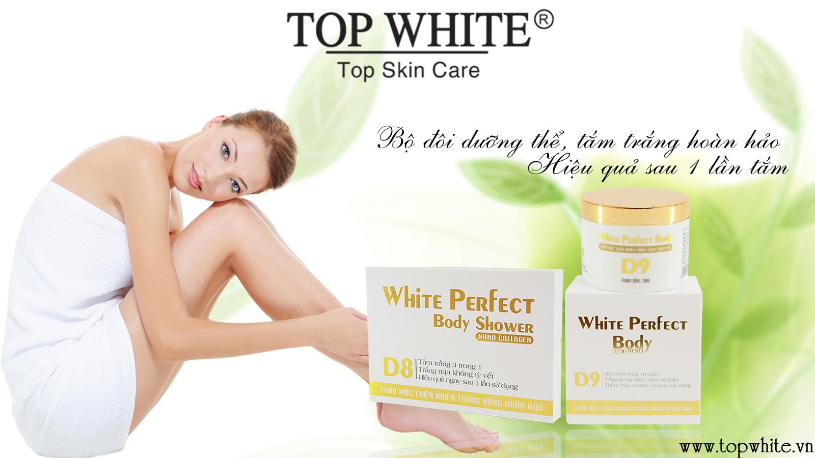 Bộ đôi tắm trắng D8 và dưỡng thể Body D9 hiệu quả chỉ sau 10 ngày