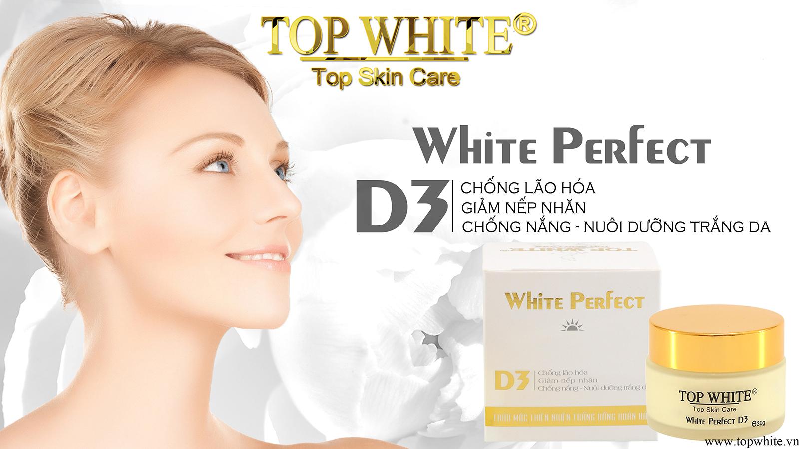White Perfect D3 kem dưỡng trắng da ban ngày