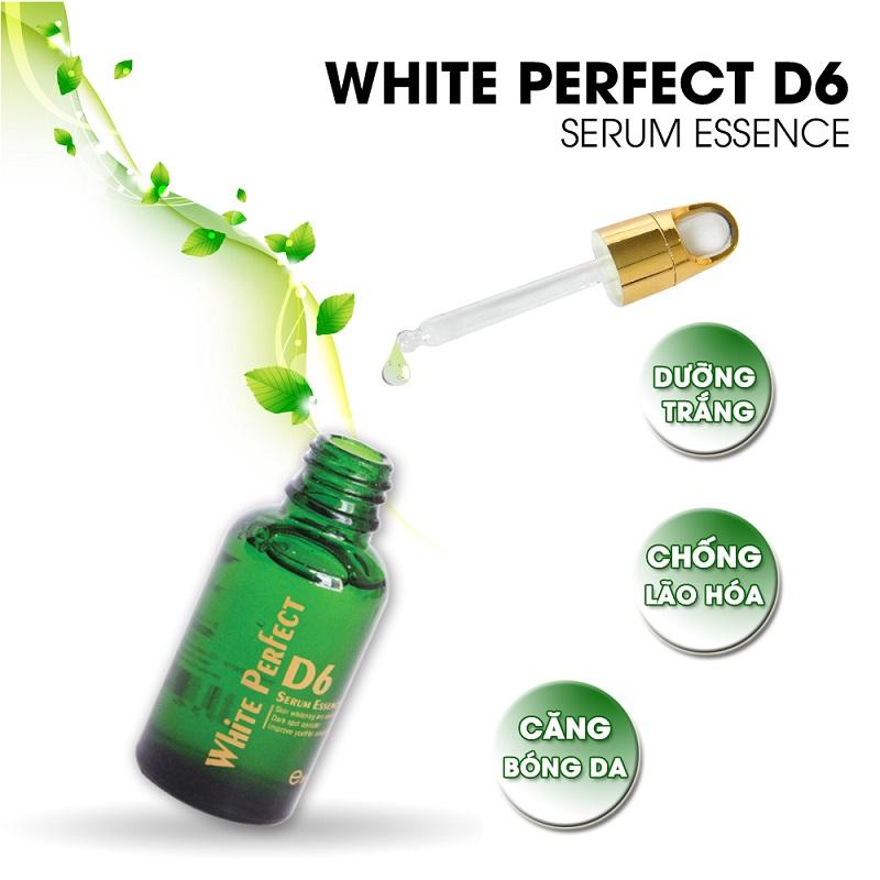 Mã vạch 8936097440066 - Serum tạo sự căng bóng chống lão hóa da white perfect d5