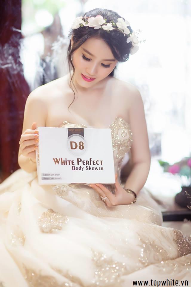 kem tắm trắng hiệu quả top white d8
