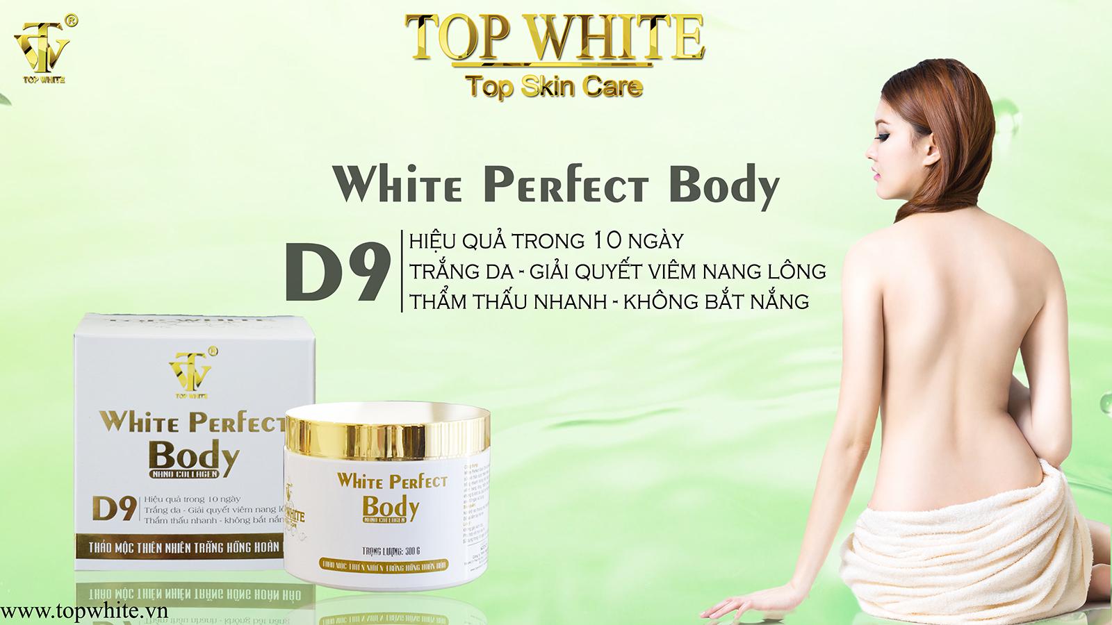 Kem dưỡng trắng da toàn thân White Perfect Body D9