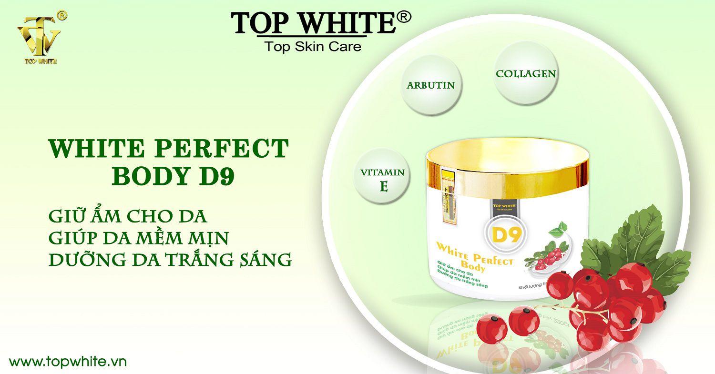 Mã vạch 8936097440097 - kem dưỡng da toàn thân white perfect d9 top white