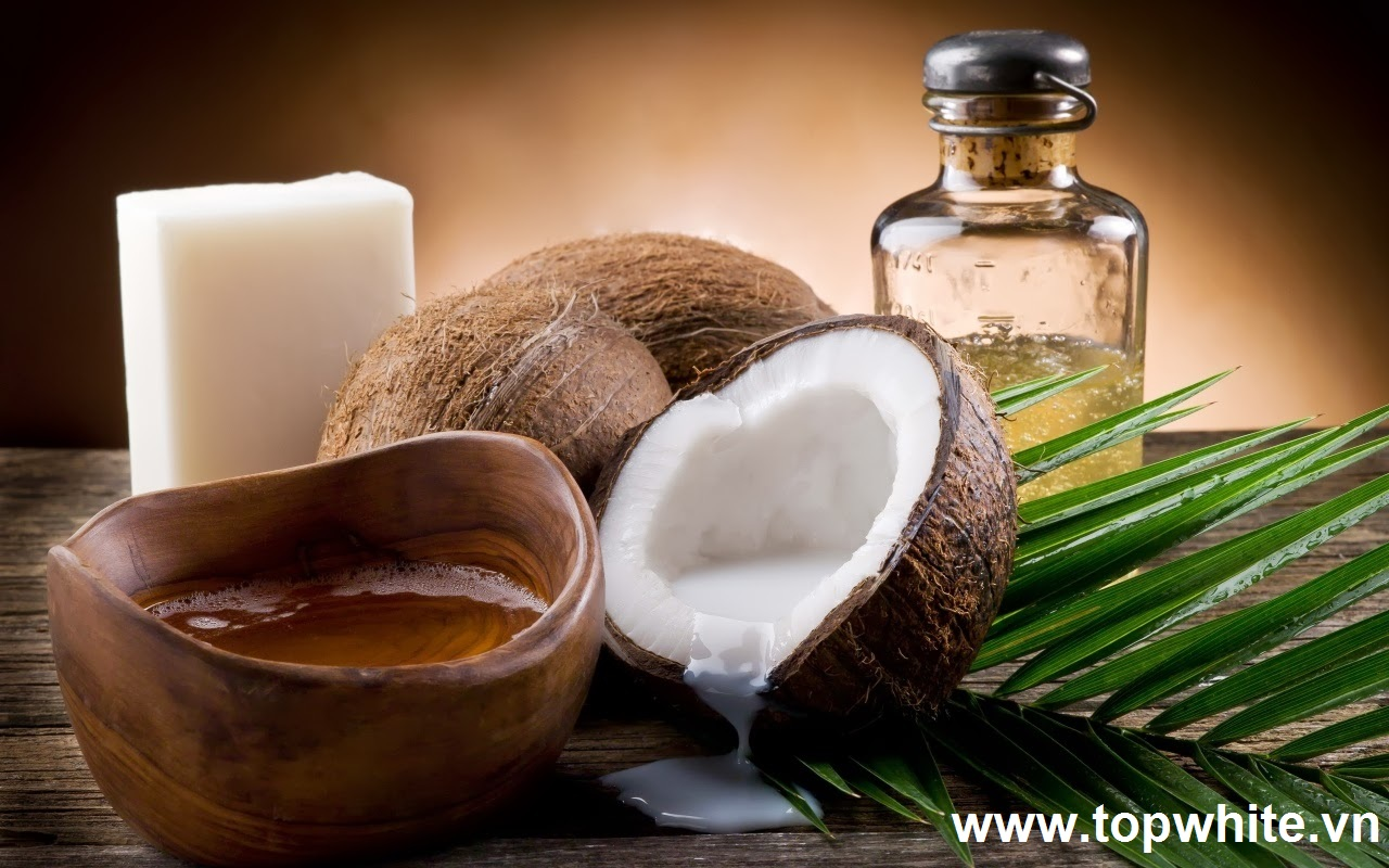 Cách làm trắng da toàn thân tự nhiên bằng dầu dừa