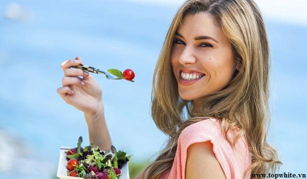 Top White khuyến cáo chế độ ăn uống tác động lớn đến làn da