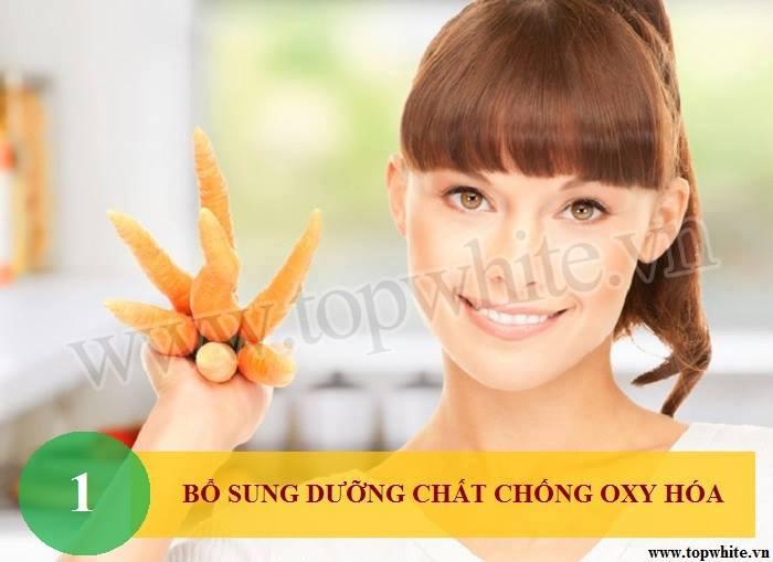 Top White mách bạn bổ sung chất chống oxy hóa cho cơ thể