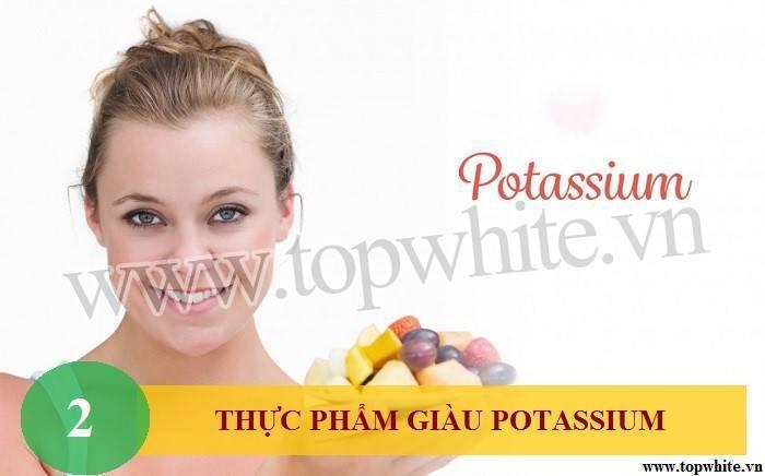 Top White mách bạn bổ sung thực phẩm giàu potassium cho cơ thể