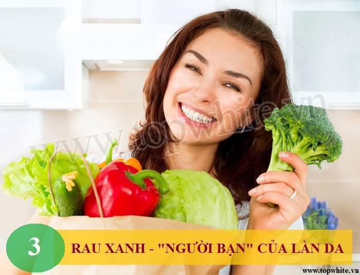 Top White mách bạn bổ sung rau xanh cho cơ thể