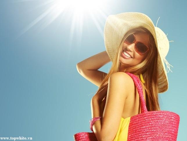 Top White khuyên bạn nên dùng kem chống nắng mỗi ngày