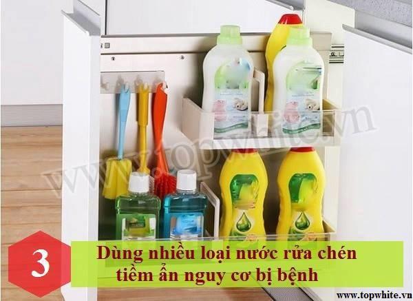 Những thói quen rửa bát tiềm ẩn khả năng gây hại sức khỏe 4