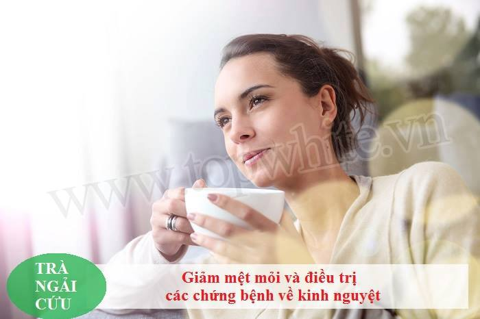 Top White mách bạn tác dụng của trà ngải cứu 5
