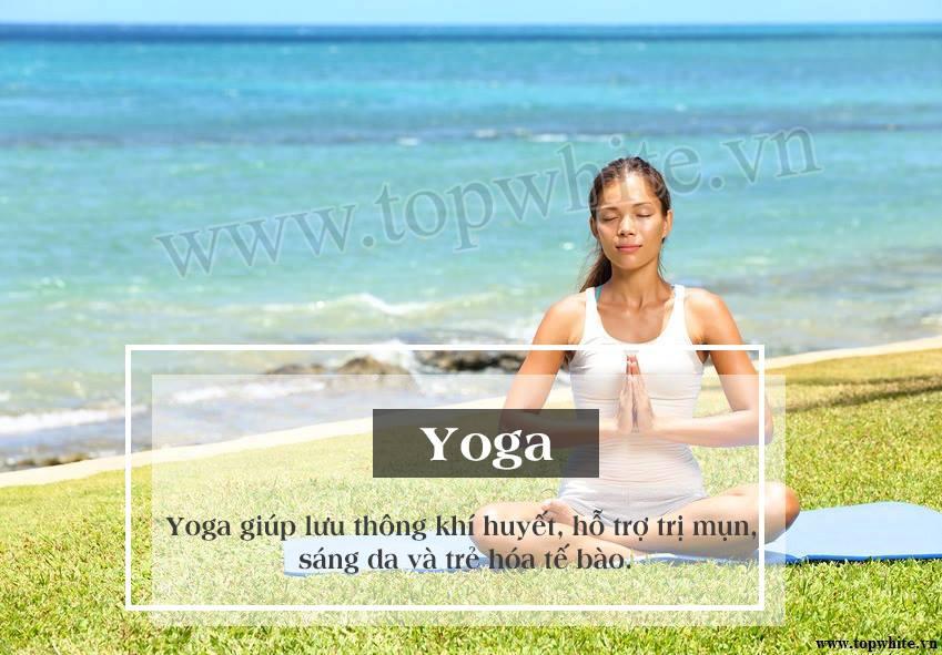 Top White khuyên bạn tập yoga giúp trẻ lâu