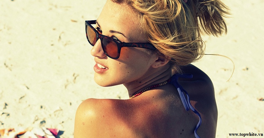 Top White - Tia UV là nguyên nhân gây cháy nắng vì vậy cần chăm sóc da cháy nắng
