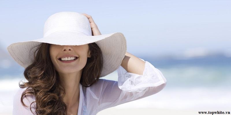 Top White khuyên bạn nên chống nắng cho da hiệu quả