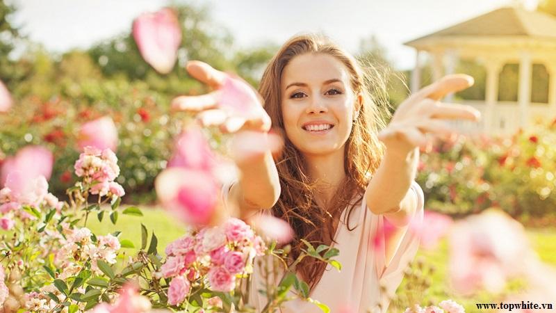Top White khuyên bạn nên thư giãn tinh thần với mùi hương nhẹ nhàng