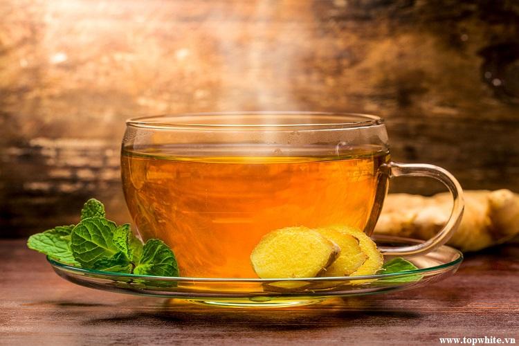 Top White mách nhỏ trà gừng tốt cho sức khỏe