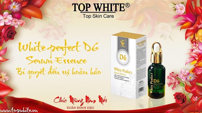 Top White serum dưỡng da White Perfect D6