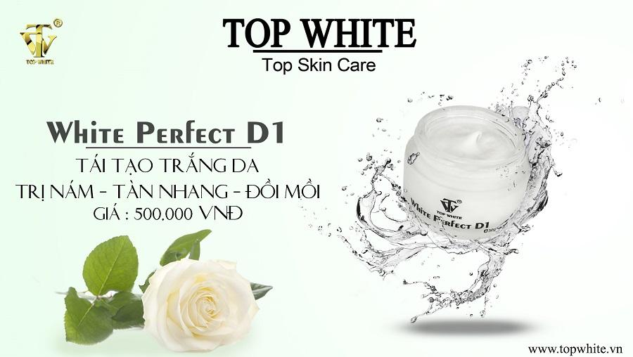 Top White D1 dưỡng sáng da