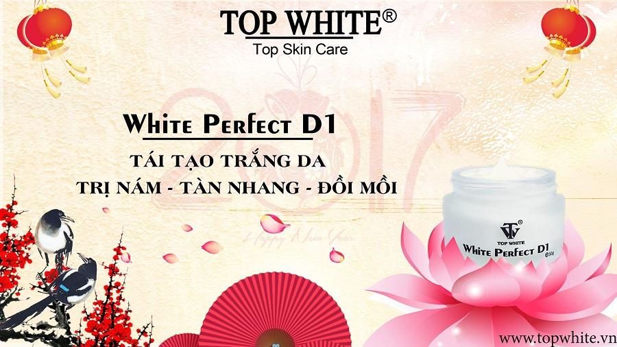 Top White D1 trị nám hiệu quả
