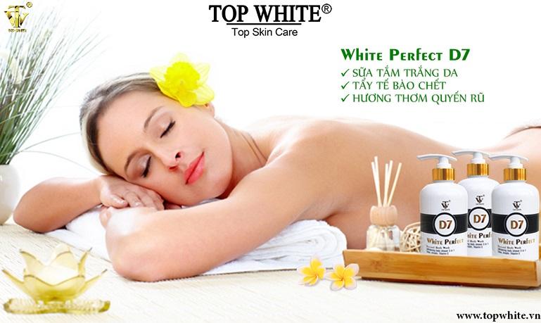 top white d7d9 trắng da toàn thân