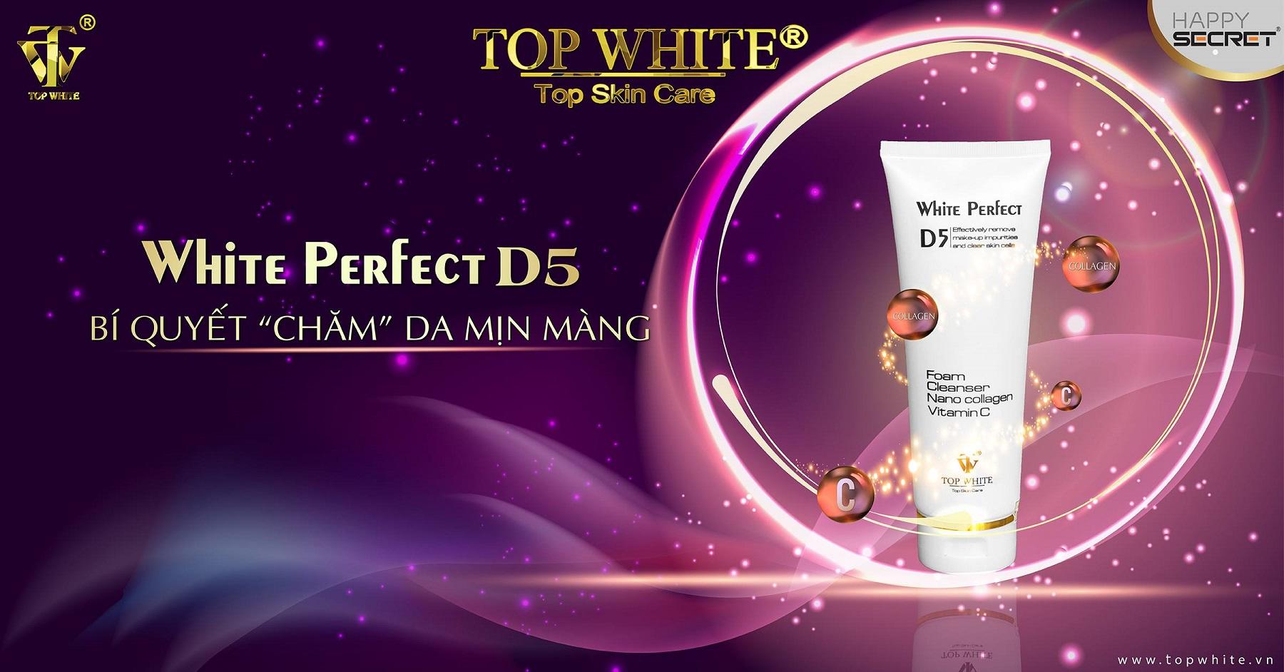 top white d5 sữa rửa mặt