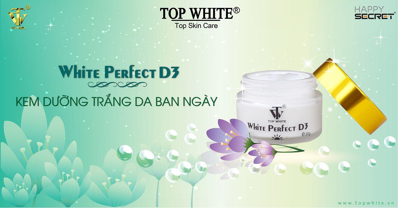 mỹ phẩm top white d3 kem chống nắng dưỡng trắng