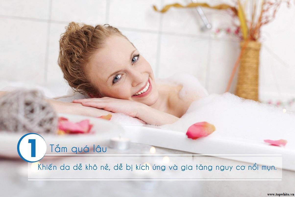 mỹ phẩm top white d7 sữa tắm trắng da toàn thân hiệu quả